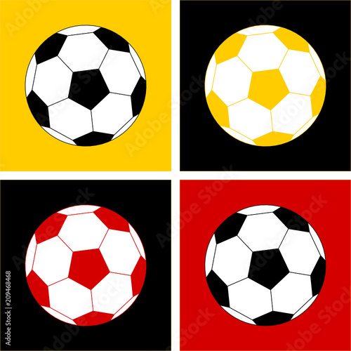 Fußball Pop-Art © thingamajiggs