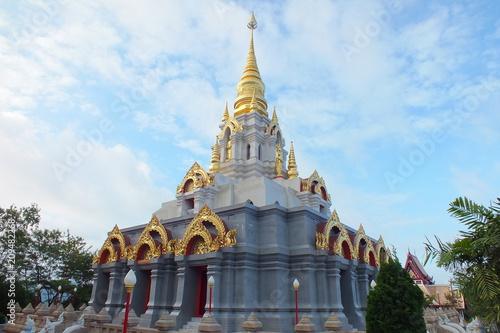 Aluminium Thailand Wat Sinakarintra stit mahasantikhiri.doi maeslong,temple in thai land.