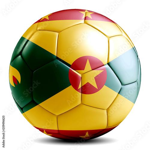 Soccer ball football futbol isolated