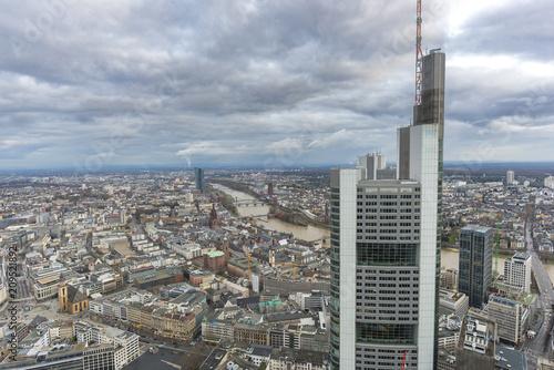 Foto Murales Frankfurt city (Germany).