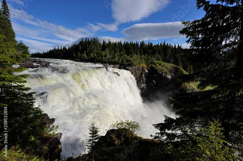 Tännforsen Wasserfall in Schweden - 209532814