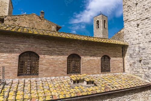 Fridge magnet San Gimignano in Tuscany, Italy