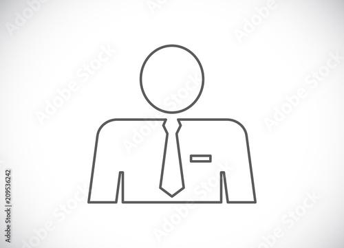 businessman avatar icon