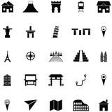 place icon set - 209537441