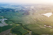 Aerial scenery of Rural paddy fields - 209537806