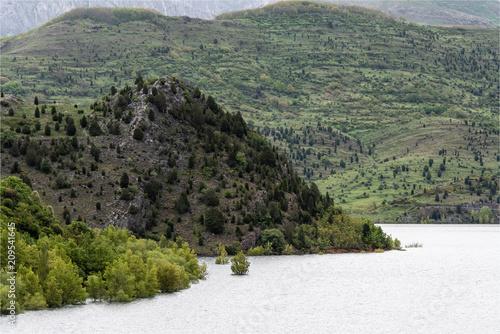 Foto Murales Paysage de montagne dans les Picos de Europa à Mallo de Luna