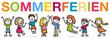 Kinder Schüler Sommerferien