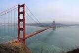 Pont du golden gate vu depuis la rive Nord