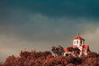 Little church on hill, Macedonia - 209550472