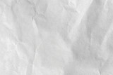 close up crumpled white paper texture and background - 209575265