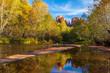 Scenic Cathedral Rocks Landscape Sedona Arizona