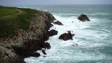 Rocks and ocean. La Coruña. Spain.Atlantic Ocean. - 209581455