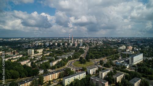 Łódź Krajobraz miasta