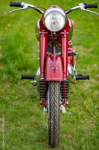 Plexiglas Fiets Old Motorcycle