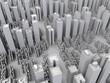 3D concept - Cityscape 3D model - 209604258
