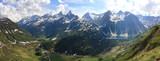 Panorama di Riale con Lago Morasco