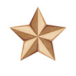 Wood Star illustration - 209613011