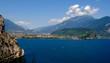 Panoramica Torbole, Riva del Garda e monte Brione in Trentino