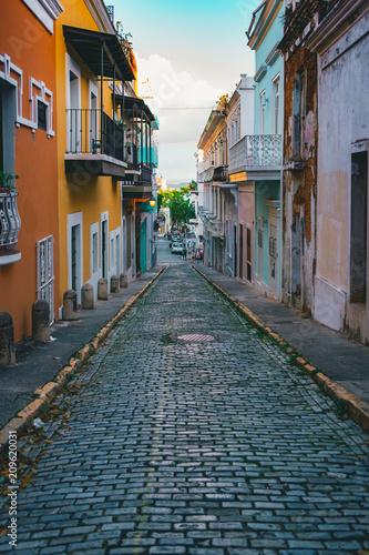 Fotobehang Smalle straatjes Alley II