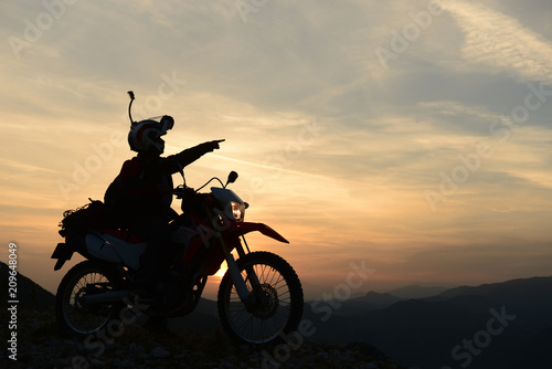 perfect geography and free motorbike travel