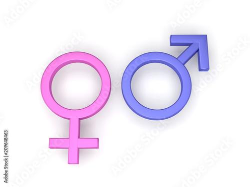 symboles homme femme féminin masculin