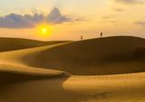 sand dunes on Gran Canaria - 209649639