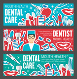 Dental clinic banner for tooth health care design - 209652457
