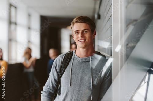 University student in campus - 209666656