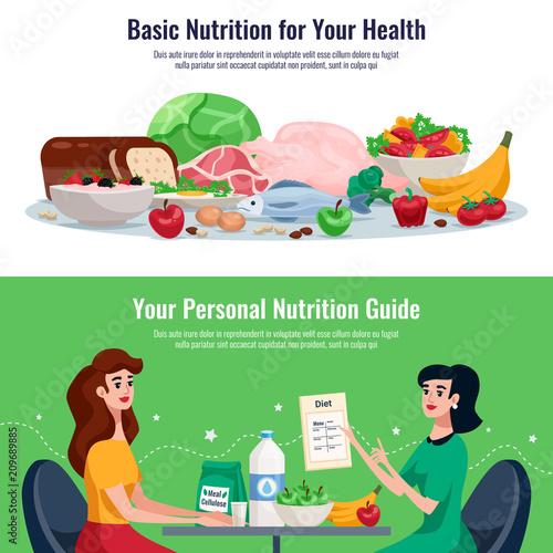 Diet Horizontal Banners - 209689885