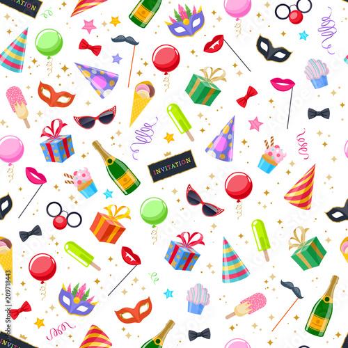 Celebration party carnival festive background.