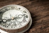 Vintage compass in business concept - strategy - 209724656