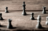 Chess business concept, leader teamwork & success - 209725463