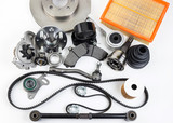 Auto parts. Spare parrts for the rapair of cars.