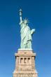 Amerikanische Freiheitsstatue auf Liberty Island, New York City, USA