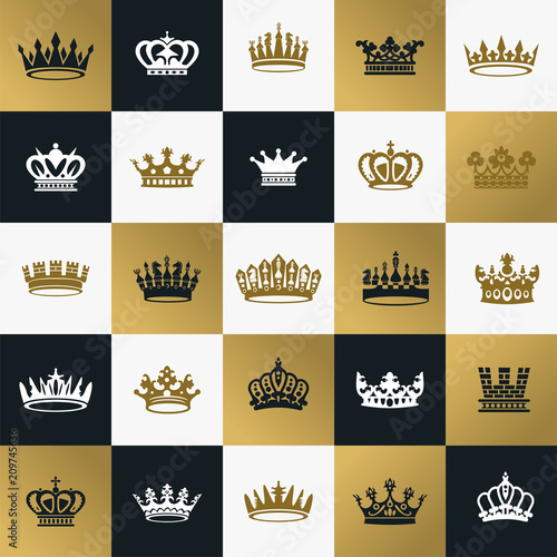 King And Queen Crowns Symbols Buy Photos Ap Images Detailview