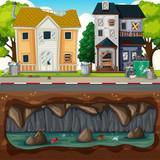 Underground Pollution at Dirty Neighborhood - 209753255