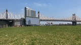 Timelapse of the Willensburg bridge in New York city. from the Roosevelt island - 209754007