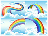 A Set of Rainbow and Cloud