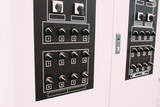 Electro panel with toggle switches, electricity switching - 209777679