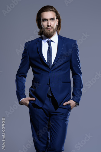 elegant male suit