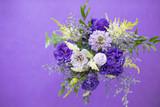 紫色の花束 - 209819466