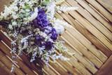 紫色の花束 - 209819635