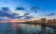 Alghero, Torre di Sulis alla luce della sera