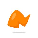 Chicken wing icon vector - 209834690