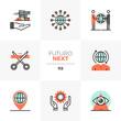 Global Business Futuro Next Icons
