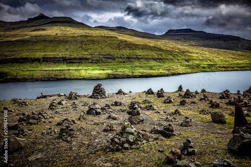 widok wyspy Faroe