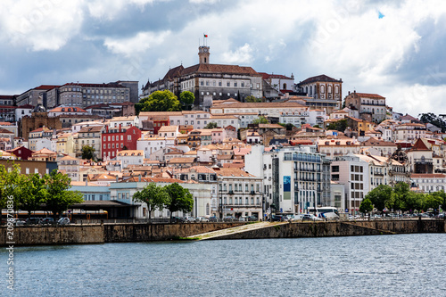 Fototapeta University city Coimbra in Portugal