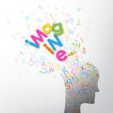 IMAGINE! concept typography