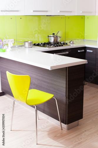 Foto Murales Modern light kitchen