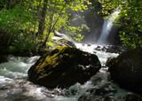 Wasserfall bei Vallouise in den Hautes Alpes
